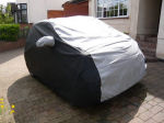 Cielo Two Tone  Luxury Outdoor Fitted Cygnet Car Cover