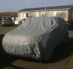 Lancia Agusta Voyager Indoor / Outdoor Car Cover (STORMFORCE Upgrade Available)