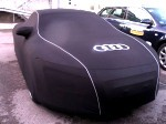 Audi Q7 SOFTECH LIGHT Luxury Indoor Black Cover - Soft, Stretch, Fully Fitted