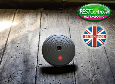 Mouse / Rodent Repeller - Battery Operated - For use in Cars / Caravans etc