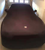 Skyline R32, R33, R34 SOFTECH LIGHT Luxury Indoor Black Cover - Soft, Stretch, Fully Fitted