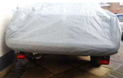MGB GT Rear Fit of Car Cover